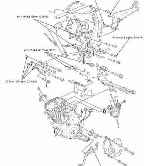 manual gratis Despiece moto Honda modelo CGR 125