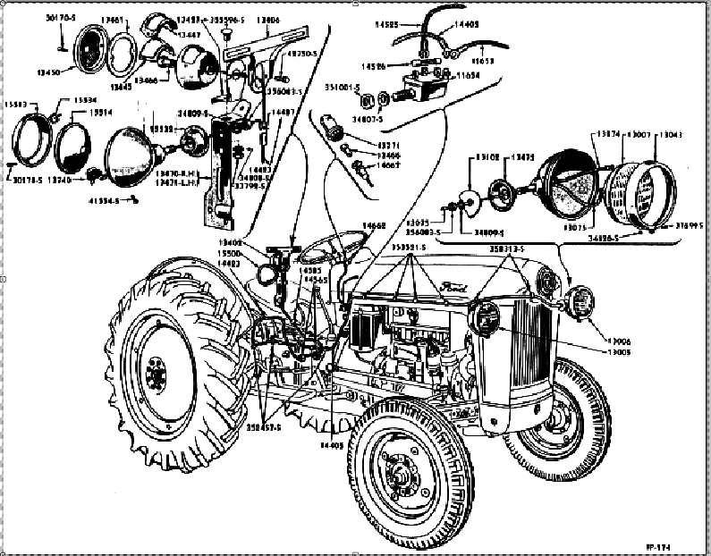 despiece tractor ford 1948  u00ab formaci u00f3n profesional